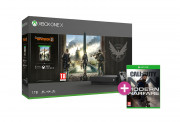 Xbox One X 1TB + Tom Clancy's The Division 2 + Call of Duty: Modern Warfare (2019) Xbox One