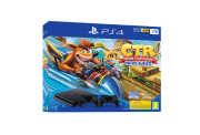PlayStation4 (PS4) Slim 1TB + Crash Team Racing + dva Dualshock 4 ovládače PS4