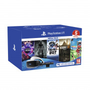 PlayStation VR Mega Pack 2 (VR Worlds, Skyrim, Astro Bot, Resident Evil Biohazard, Everybody's Golf) PS4