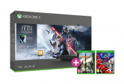Xbox One X 1TB + Star Wars Jedi: Fallen Order + The Division 2 + eFootball PES 2020 Xbox One