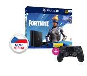 PlayStation 4 (PS4) Pro 1TB + Fortnite Neo Versa Bundle + PS4 Sony Dualshock 4 ovládač