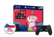 PlayStation 4 (PS4) Pro 1TB + FIFA 20 + PS4 Sony Dualshock 4 ovládač PS4