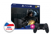 Playstation 4 (PS4) Pro 1TB + Death Stranding + PS4 Sony Dualshock 4 ovládač PS4