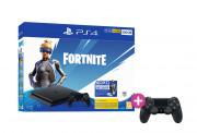 PlayStation 4 (PS4) Slim 500GB + Fortnite Neo Versa Bundle + PS4 Sony Dualshock 4 ovládač