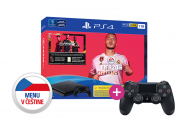 PlayStation 4 (PS4) Slim 1TB + FIFA 20 + PS4 Sony Dualshock 4 ovládač PS4
