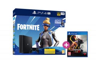 PlayStation 4 (PS4) Pro 1TB + Fortnite Neo Versa Bundle + Nioh 2 PS4