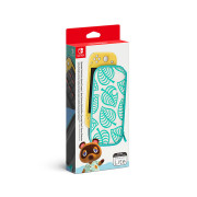 Nintendo Switch Lite Carrying Case + Screen Protector (Animal Crossing: New Horizons Edition)