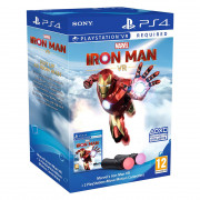 Marvel's Iron Man VR + 2 PlayStation Move Motion Controllers PS4