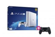 PlayStation 4 (PS4) Pro 1TB Glacier White + PS4 Sony Dualshock 4 Wireless Ovládač