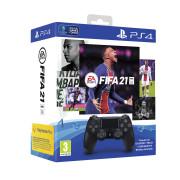 Dualshock 4 ovládač (čierny) + FIFA 21