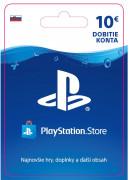ESD SK - PS Store el. peňaženka - 10 EUR (Kód na stiahnutie)