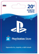 ESD SK - PS Store el. peňaženka - 20 EUR (Kód na stiahnutie)