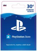 ESD SK - PS Store el. peňaženka - 30 EUR (Kód na stiahnutie) PS4