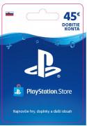 ESD SK - PS Store el. peňaženka - 45 EUR (Kód na stiahnutie)