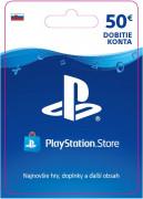 ESD SK - PS Store el. peňaženka - 50 EUR (Kód na stiahnutie)