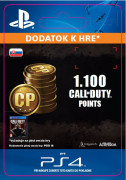 ESD SK PS4 -1,000 (+100 Bonus) Call of Duty Points (Kód na stiahnutie)