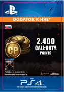 ESD SK PS4 -2,000 (+400 Bonus) Call of Duty Points (Kód na stiahnutie) PS4