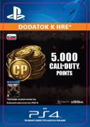 ESD SK PS4 - 4,000 (+1,000 Bonus) Call of Duty Points (Kód na stiahnutie)