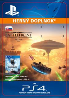 ESD SK PS4 - STAR WARS Battlefront Bespin (Kód na stiahnutie) PS4