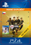 ESD SK PS4 - 500 FIFA Points (Kód na stiahnutie)