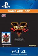 ESD SK PS4 - Street Fighter V- Season 1 Char. Pass (Kód na stiahnutie)