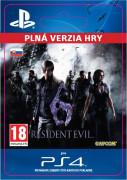 ESD SK PS4 - Resident Evil 6 (Kód na stiahnutie)