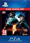 ESD SK PS4 - RESIDENT EVIL 5 (Kód na stiahnutie) PS4