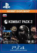 ESD SK PS4 - Mortal Kombat X Kombat Pack 2 (Kód na stiahnutie)