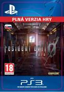 ESD SK PS3 - Resident Evil 0 (Kód na stiahnutie) PS4