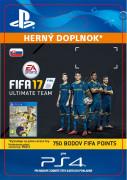 ESD SK PS4 - 750 FIFA 17 Points Pack (Kód na stiahnutie)