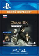 ESD SK PS4 - Deus Ex: Mankind Divided -System Rift (Kód na stiahnutie)