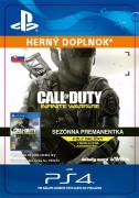 ESD SK PS4 - Call of Duty: Infinite Warfare - Season Pass (Kód na stiahnutie)