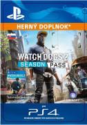 ESD SK PS4 - Watch Dogs 2 - Season Pass (Kód na stiahnutie)