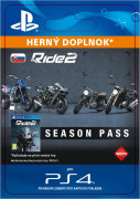 ESD SK PS4 - Ride 2 Season Pass (Kód na stiahnutie)
