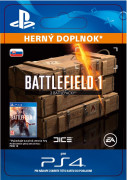 ESD SK PS4 - Battlefield 1 Battlepacks x 3 (Kód na stiahnutie) PS4