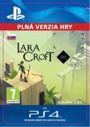 ESD SK PS4 - Lara Croft GO (Kód na stiahnutie)