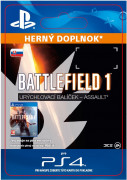 ESD SK PS4 - Battlefield 1 Shortcut Kit: Assault Bundle (Kód na stiahnutie)