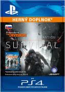 ESD SK PS4 - TOM CLANCY'S THE DIVISION Survival (Kód na stiahnutie) PS4