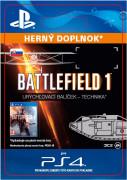 ESD SK PS4 - Battlefield 1 Shortcut Kit: Vehicle Bundle (Kód na stiahnutie)