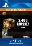 ESD SK PS4 - 2,400 Call of Duty: Modern Warfare Remastered (Kód na stiahnutie)