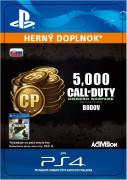 ESD SK PS4 - 5,000 Call of Duty: Modern Warfare Remastered (Kód na stiahnutie)