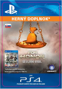 ESD SK PS4 - FOR HONOR 11 000 STEEL Credits Pack (Kód na stiahnutie)