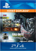 ESD SK PS4 - Call of Duty: Infinite Warfare - DLC 2: Continuum (Kód na stiahnutie)