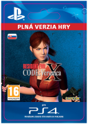 ESD SK PS4 - Resident Evil Code: Veronica X (Kód na stiahnutie)
