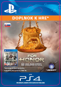 ESD SK PS4 - FOR HONOR™ 150 000 STEEL Credits Pack (Kód na stiahnutie)