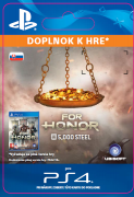 ESD SK PS4 - FOR HONOR™ 5 000 STEEL Credits Pack (Kód na stiahnutie)