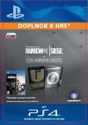 ESD SK PS4 -1200Credit-TomClancysRainbowSixSiegeR6 (Kód na stiahnutie)