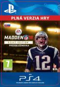 ESD SK PS4 - Madden NFL 18 G.O.A.T. Edition (Kód na stiahnutie) PS4