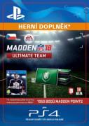 ESD SK PS4 - 1050 Madden NFL 18 Ultimate Team Points (Kód na stiahnutie)