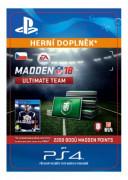 ESD SK PS4 - 2200 Madden NFL 18 Ultimate Team Points (Kód na stiahnutie)